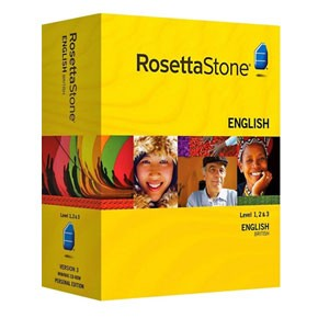 Rosetta Stone English (British) Level 1, 2, 3 Set Product Key